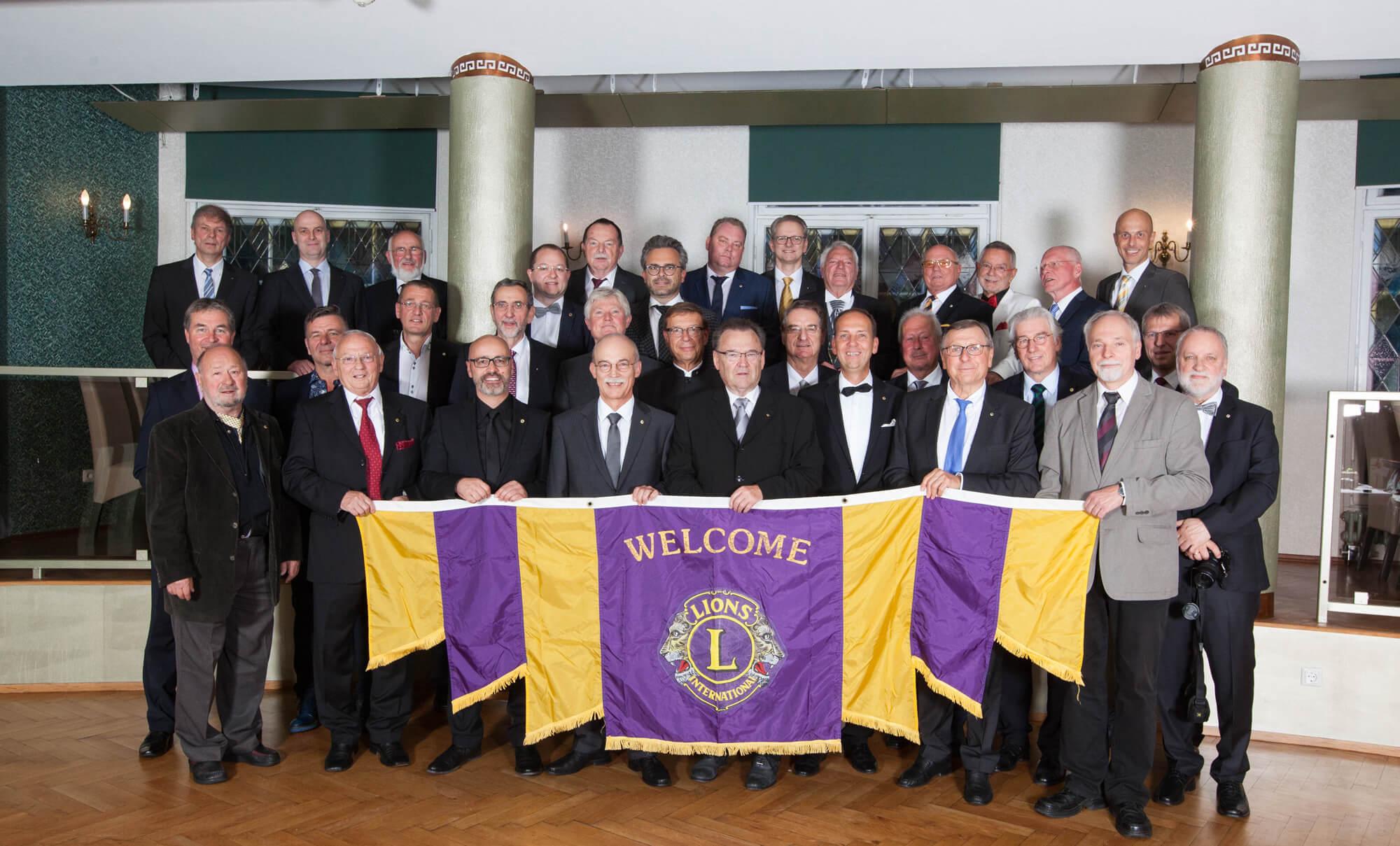 Gruppenbild des Lions-Club-Jena