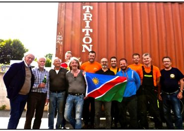 Hilfssendungen nach Namibia gestartet