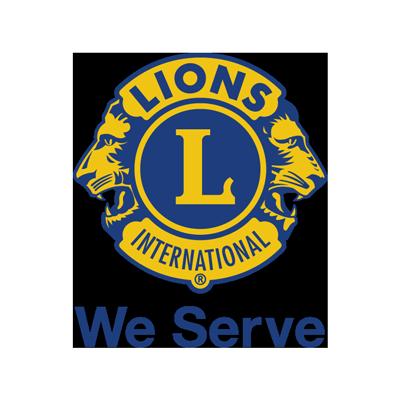 Lions We Serve Logo