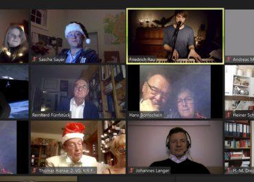 Virtuelle Weihnachtsfeier bei den Lions.
